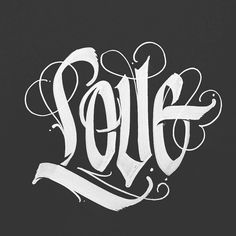 Design resource for typography and lettering lovers. We showcase work by incredible artists and provide resources to better serve the typography community. Gothic Lettering, Chicano Lettering, Graffiti Lettering Fonts, Tattoo Lettering Fonts, Creative Lettering, Lettering Styles, Typography Letters, Acab Tattoo, Tatoo Art