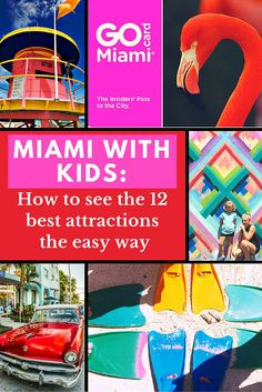 Planning a family vacation to Miami with kids is a great idea, with loads of family attractions that extend well beyond the beach. But how do you prioritize your time and money and separate the authentic experiences from the tourist traps? The all-inclusive Miami Attraction Pass may be the answer.