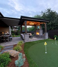 Outside Covered Patio . Outside Covered Patio . √ 27 Gorgeous Covered Patio Ideas for Your Outdoor Space Design Patio, Backyard Patio Designs, Outdoor Kitchen Design, Covered Patio Design, Outdoor Kitchen Patio, Back Yard Patio Ideas, Outdoor Fireplace Patio, Nice Backyard, Cover Patio Ideas