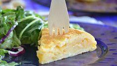 Bread & oil: Spanish omelette (Tortilla de patatas)