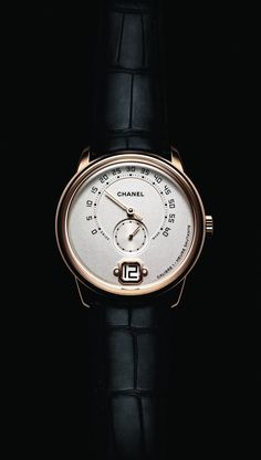 "#Baselworld - #Baselworld2016 the brand new #Chanel ""Monsieur"" #ChanelMonsieur - #Watch - #Horology - #Luxe march 2016"