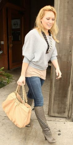 Love everything about this look, especially those boots!