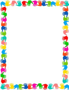 Kindergarten portfolio, boarders and frames, page borders free, page frames, scho Boarder Designs, Page Borders Design, Page Borders Free, Printable Border, Printable Labels, Free Printable, School Border, Page Frames, Diy And Crafts