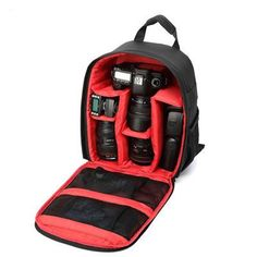 Padded Backpack Camera Case