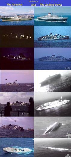 The Oceanos vs The Andrea Doria