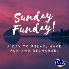 a day to relax, have fun and recharge. Day Off Quotes, Good Day Quotes, Sunday Quotes, Daily Quotes, Quote Of The Day, Best Quotes, Life Quotes, Awesome Quotes, Relax Quotes