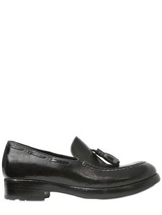 Rocco P ~ Brushed Leather Miles Loafers
