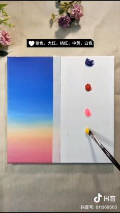 I'm sharing wonderfull acrylic painting ideas. Also painting & drawing tutorials step by step. Simple Canvas Paintings, Easy Canvas Art, Small Canvas Art, Mini Canvas Art, Canvas Ideas, Easy Paintings, Canvas Painting Tutorials, Painting Videos, Oil Pastel Art