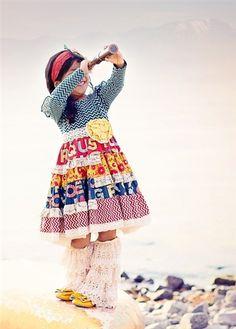 Mustard Pie Clothing Mckenna Dress Multi