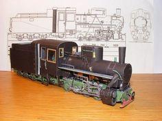 SŽD-Baureihe KP4 Locomotive Free Train Paper Model Download -
