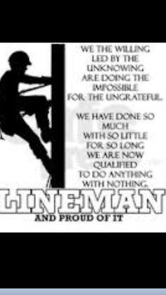 Love my lineman