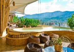 Featured Hotspot: Diez Hotel Medellin. A beautiful place to relax and soak in the atmosphere of Colombia, Diez Hotel will seduce you with its high level of comfort, the quality of the services provided and last but not least, its breathtaking spa.