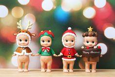 바보사랑/소니엔젤/피규어/귀여운인형/디자인소품/인테리어소품/크리스마스/소니엔젤크리스마스