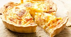 Perfect for Sunday night, this classic bacon and egg quiche is easy to make and very delicious. Grab as much as you can, as it's not going to last long.