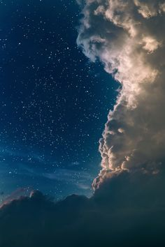 STORMY CLOUDS OF NIGHT SKY