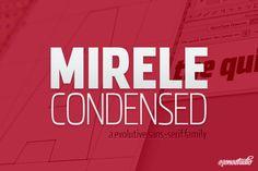 Check out Mirele - Evolutive Font by ozonostudio on Creative Market
