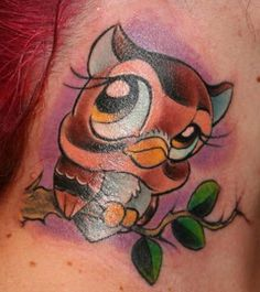 Tattoo johnny | animal owl tattoos, Called the most human of birds, the owl possesses a calm nature that supports thought over action. Description from newgirlwallpaper.com. I searched for this on bing.com/images