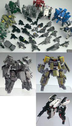 Zizy. Lego Mech