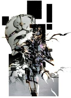 yoji shinkawa - metal gear solid
