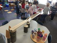 Myers' Kindergarten: How Did We Explore the Concepts of Physics in Kindergarten? Nursery Activities, Toddler Activities, Stem Activities, Early Education, Early Childhood Education, Eyfs Classroom, Classroom Ideas, Early Childhood Activities, Kindergarten Science