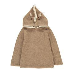 Horse Alpaca Wool Smallable x OEuf Exclusive Hoodie Oeuf NYC Baby Children- A large selection of Fashion on Smallable, the Family Concept Store - More than