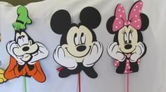Mickey Mouse Clubhouse Centerpiece by DreamComeTrueParties on Etsy