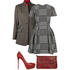 Sans titre #2822 by celyana on Polyvore featuring moda, Alexander McQueen, rag & bone, Topshop and Valentino