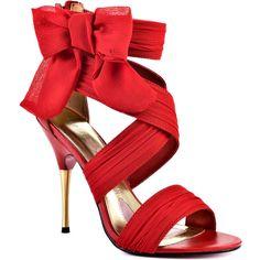 Paris Hilton Selene - Red Chiffon