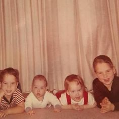 Chris Cornell (second from left) and his siblings.