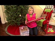 ▶ How To Decorate a Christmas Tree With Lights, Garland, and Ornaments - YouTube