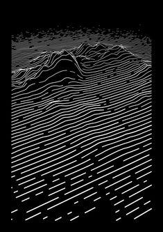 06 . dune —#codevember #daillies #onedaybehind #javascript #2d #printpic.twitter.com/LykcE2BAbP Unknown Pleasures, Parametric Design, Joy Division, Generative Art, Poster Designs, Medium Art, Album Covers, Line Art, Pattern Design