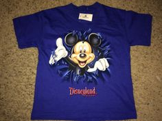 Sale Vintage MICKEY MOUSE Disneyland Resort T shirt by casualisme