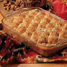 Herbed Oatmeal Pan Bread Recipe | Taste of Home | I use to make this recipe about 15 years ago {from their magazine} and it always got rave reviews. Very good! I'm glad I have come across it again.