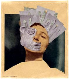 Hannah Hoch, Indian Dance from an Ethnographic Museum, 1930 mixed media.