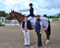 Lucy Deslauriers lidera el $36,400 Assante Classic en Bromont.