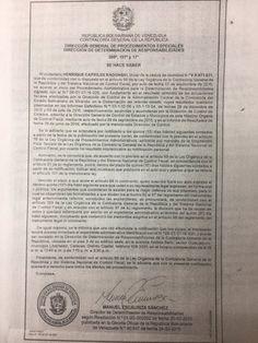 El opositor indicó que el Estado opera a través de un sistema de corrupción, publica El Nacional Henrique Capriles, gobernador de Miranda, expresó que el g