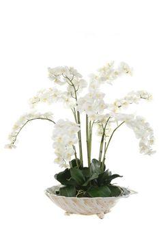 Beautiful Orchid  Silk Flower Arrangement.  Free Shipping. Faux Flowers, Love Flowers, Silk Flowers, Beautiful Flowers, Beautiful Bouquets, Ikebana Flower Arrangement, Faux Flower Arrangements, Table Arrangements, Table Flowers