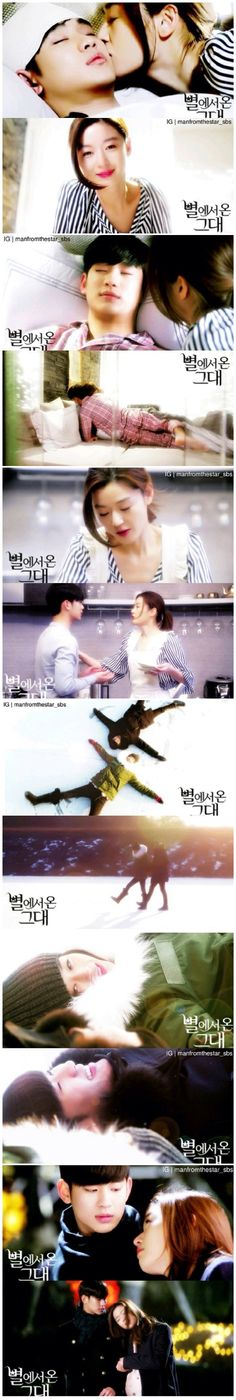 """Man From the Stars...this """"scene"""" was so sweet"""