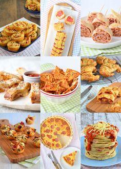 Je houdt van de smaak van pizza, maar je hebt niet altijd zin in een hele pizza? Dan hebben wij de oplossing met deze negen keer pizza in een ander jasje.