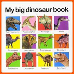 My Big Dinosaur Book - Toys for little kids (*Amazon Partner-Link)