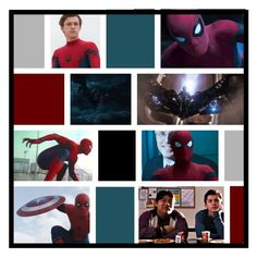 """Spiderman Homecoming"" by jackfrost1904 ❤ liked on Polyvore featuring art"