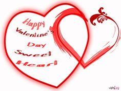 Poetry and Worldwide Wishes: Happy Valentine's Day Heart Touching Image with Sweet Heart Valentine Day Msg, Happy Valentine Day Quotes, Valentine Day Crafts, New Heart, Valentine's Day Quotes, Cards, Poetry, Sweet, Image
