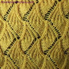 Knitting Stitch Patterns -- Eyelets & Lace Stitches-- Cookies