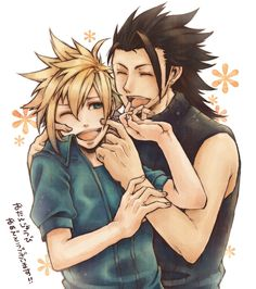 Final fantasy cloud and zack yaoi - photo#6