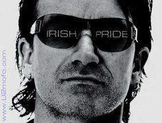 BONO, by unknown author. Repinned by WI/IE. _____________________________Do feel free to visit us on http://www.pinterest.com/wonderfulirl/famous-names/ for lots more pictures and stories of beautiful Ireland.