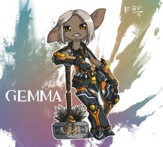 GW2: Gemma the Asura by Qvi on DeviantArt