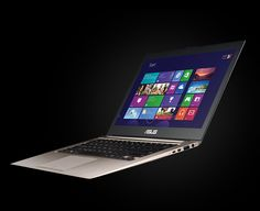 ASUS ZenBook Touch - With Touch and Windows 8  http://www.asus.com/vivo/en/zenBook.htm