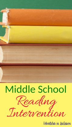 4 Awesome Middle School Reading Resources – Adventures in Inclusion Resources for Middle School Reading Intervention Reading Intervention Activities, Reading Resources, Reading Strategies, Reading Comprehension, School Resources, Middle School Writing, Middle School English, Dyslexia Activities, Dyslexia Teaching