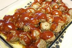 Mommy's Kitchen - Old Fashioned & Southern Style Cooking: Potluck Sunday ~ The PW's BBQ Meatballs