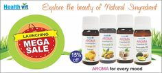 Limmited Period Offer! Healthvit AROMA Essential Oils. Exclusively at shoppemall.com #OnlineShopping #Deals&Offers http://www.shoppemall.com/HealthvitEssentialAlmondAromaOil30ml-Packof2-124406